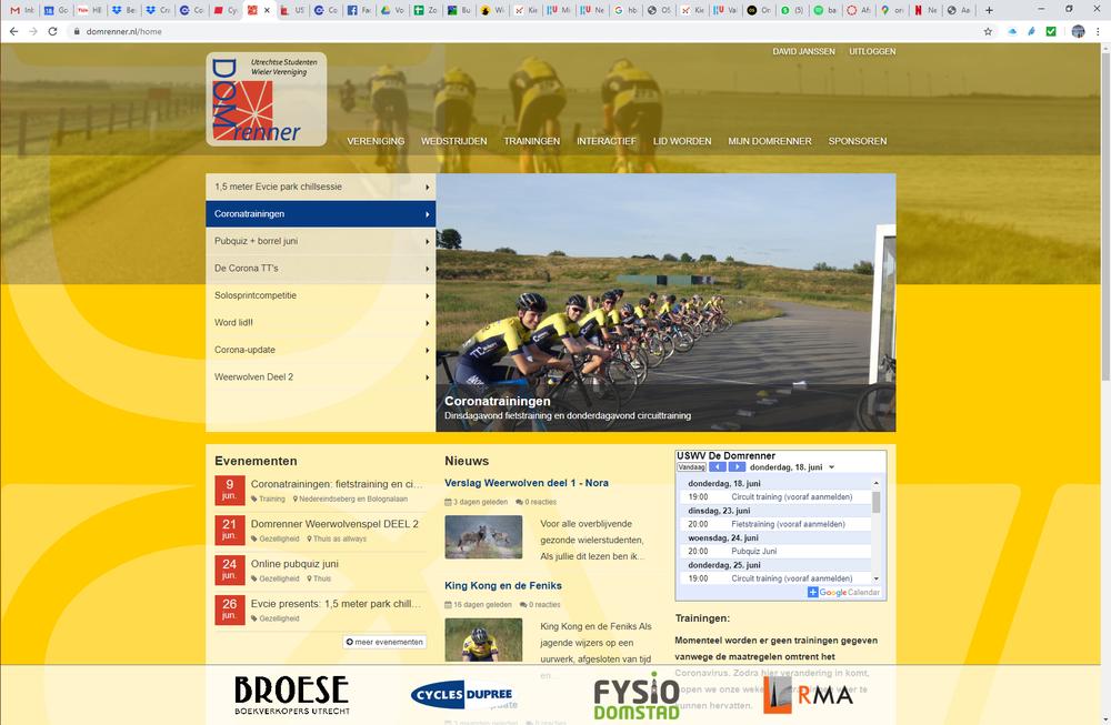 Website vernieuwd en opgeschoond