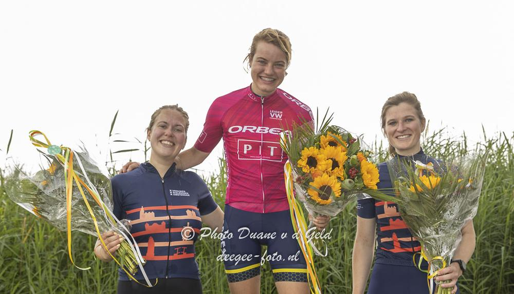Wedstrijdverslag Ronde van Kralingen en Competitie Vrouwenwielrennen