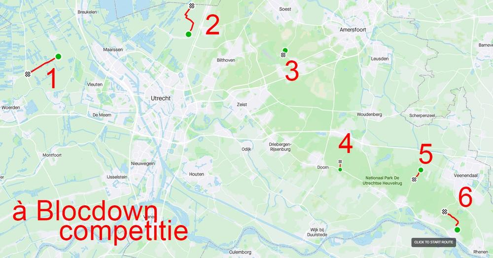 WedCo presents: à Blocdown-competitie!