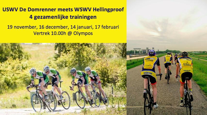 Gezamenlijke trainingen met WSWV Hellingproof