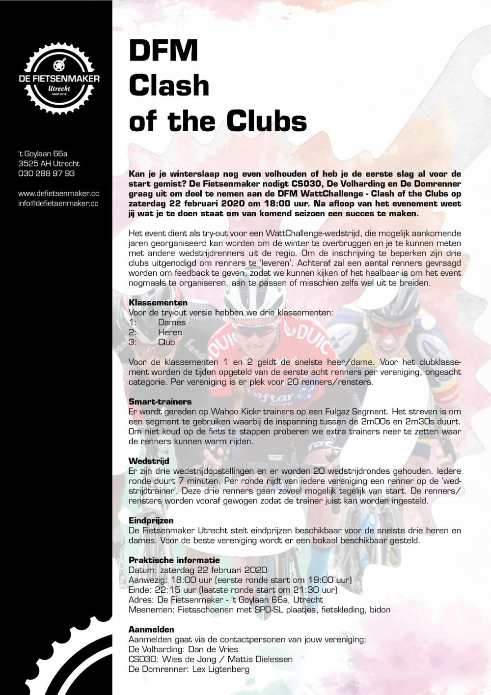 Clash of the Clubs