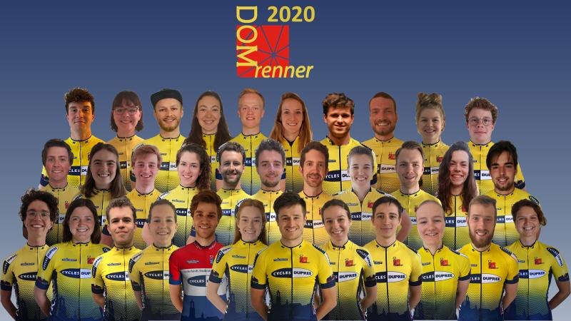 Virtuele ploegenpresentatie 2020