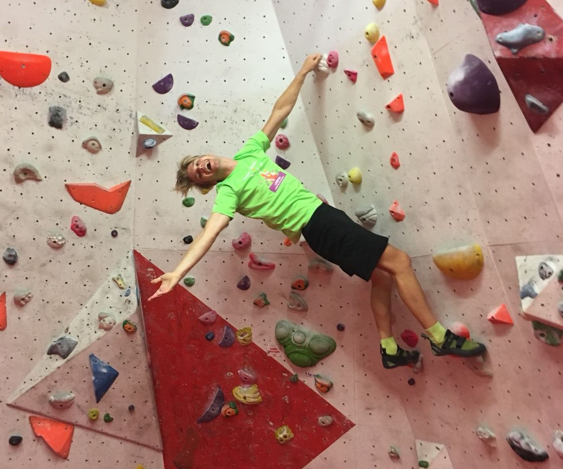 De Evcie presents: Boulderen